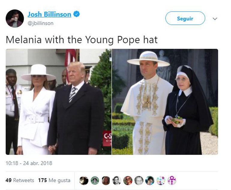 on Jude Law en El joven Papa o incluso con el personaje del alquimista en el filme de La montaña sagrada.