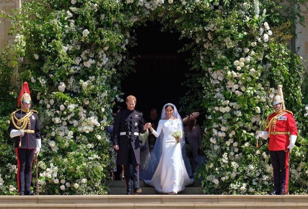 La princesa Meghan y el príncipe Harry, recién casados.