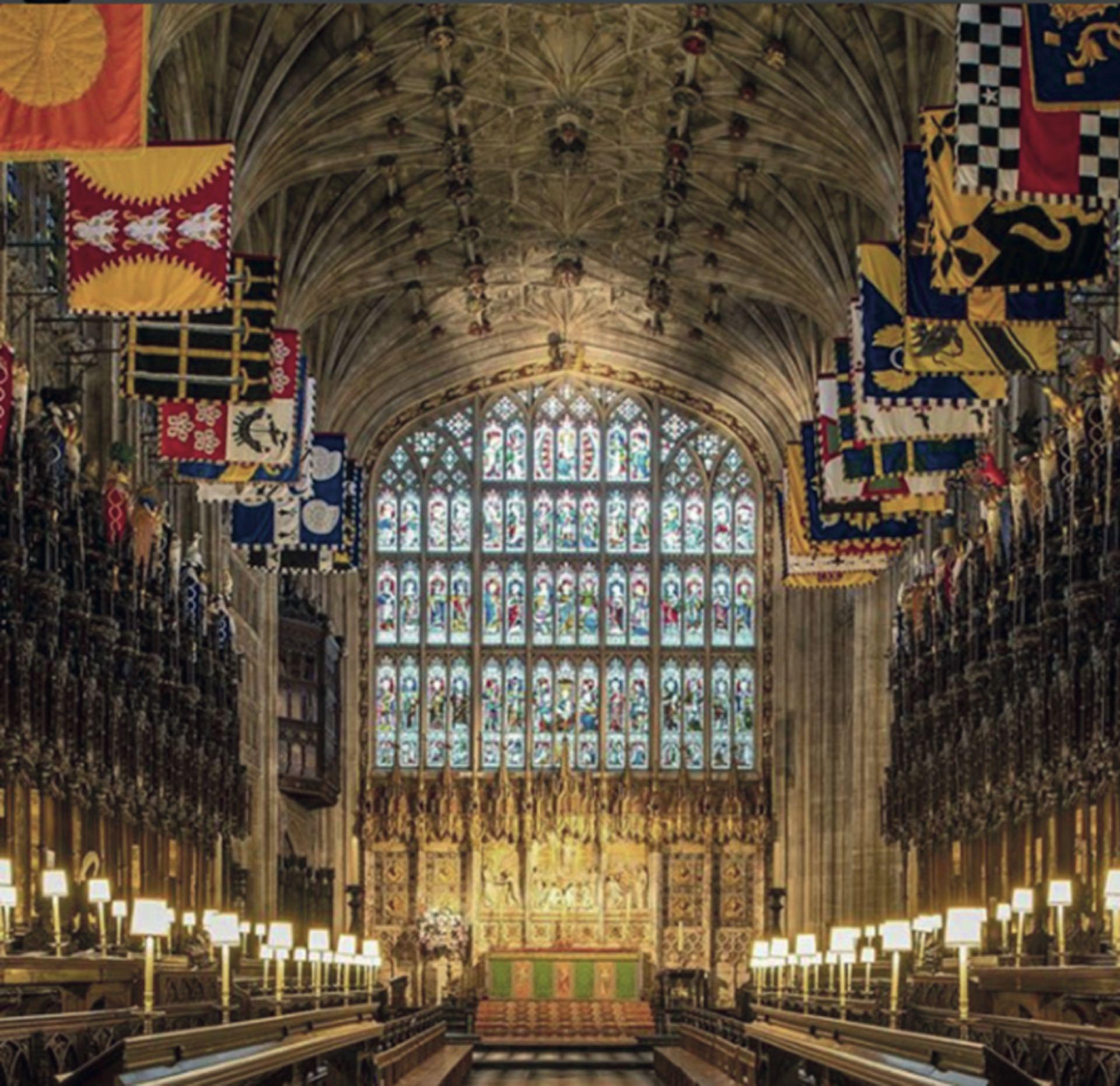 xCuándo y dónde. El 19 de mayo a las 12 PM en la capilla de St. George, en el castillo de Windsor, donde Harry fue bautizado en 1984.