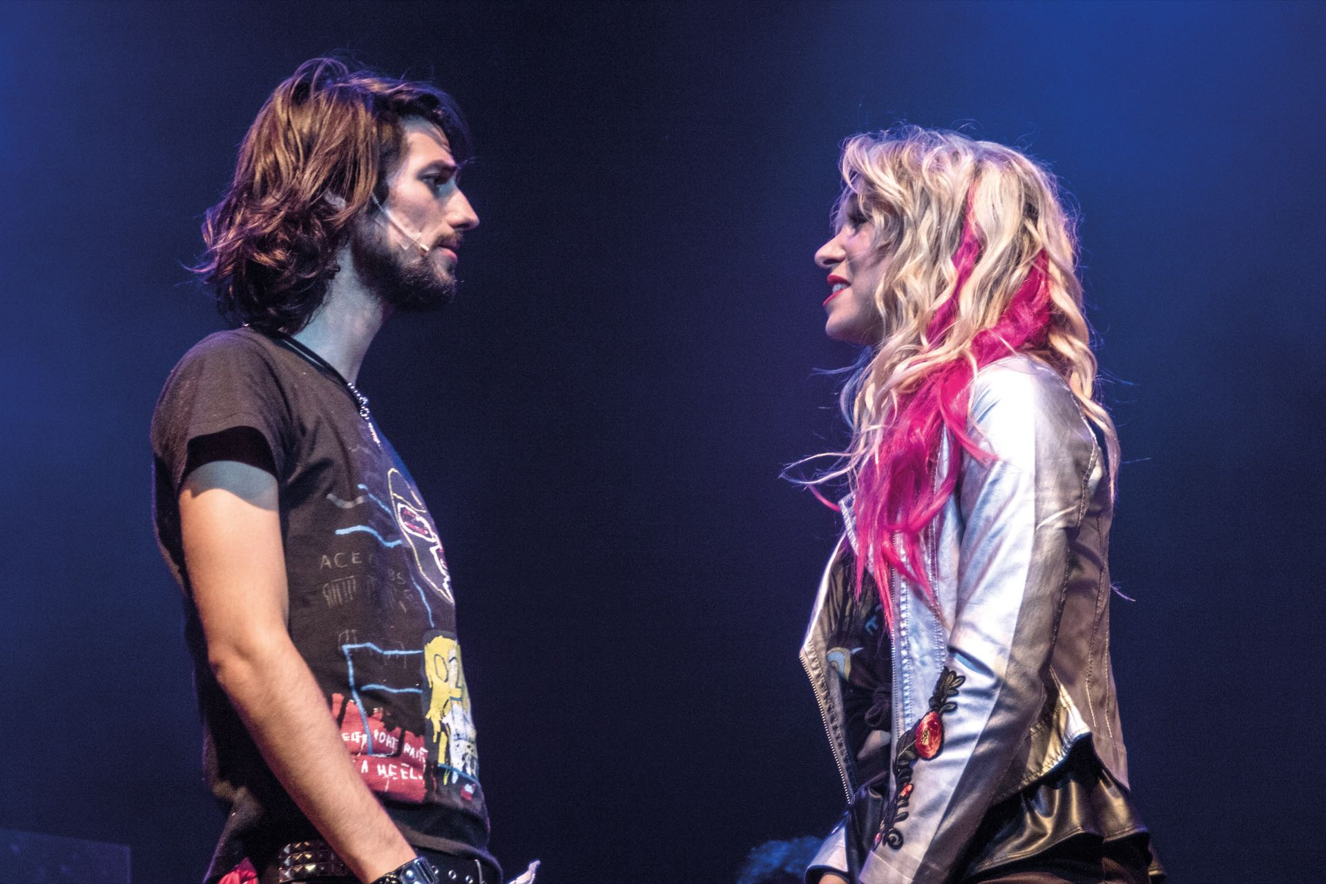 Mica en Rock of Ages.