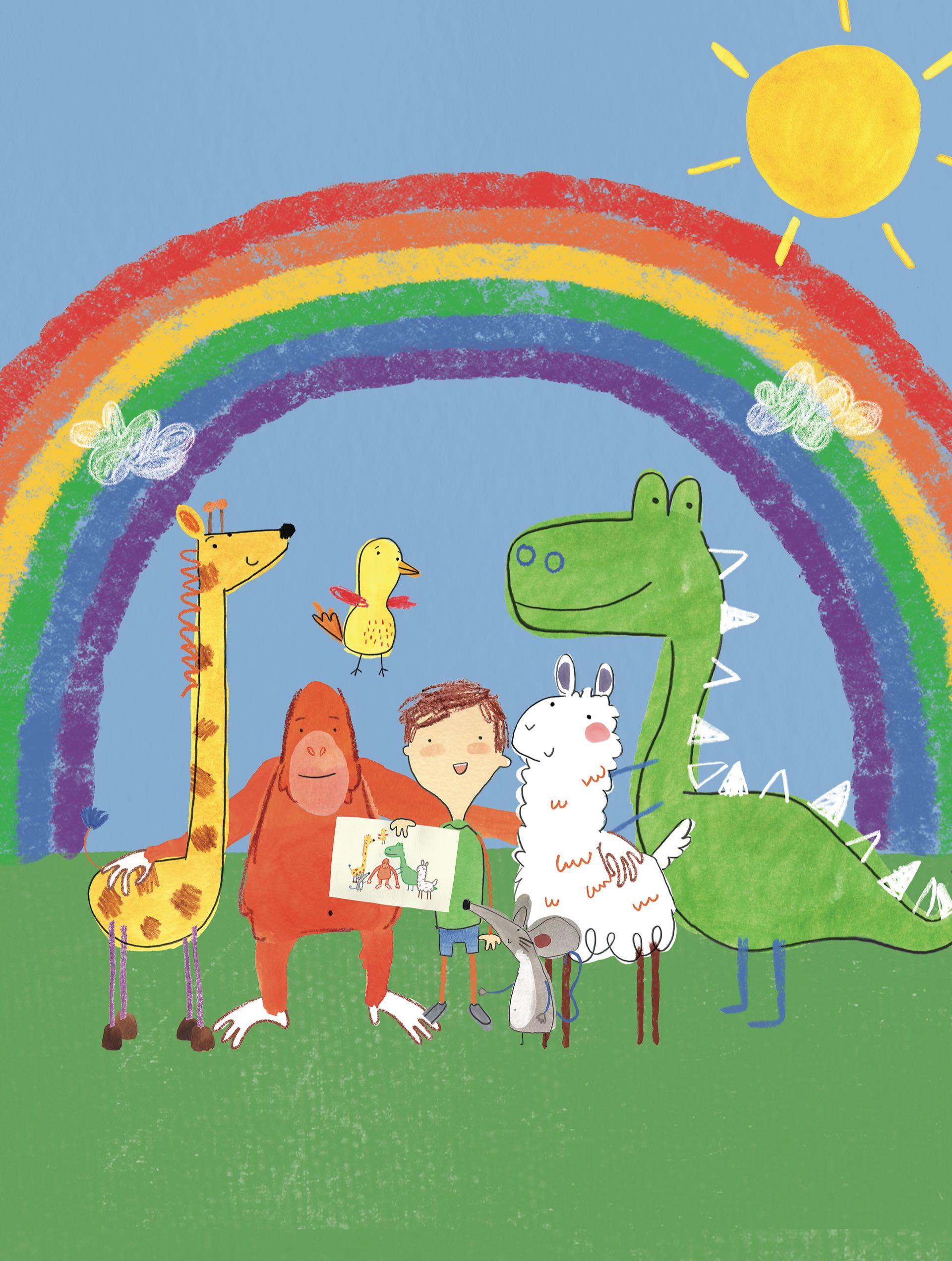 Cada uno de los personajes de la serie representa un grado diferente de autismo