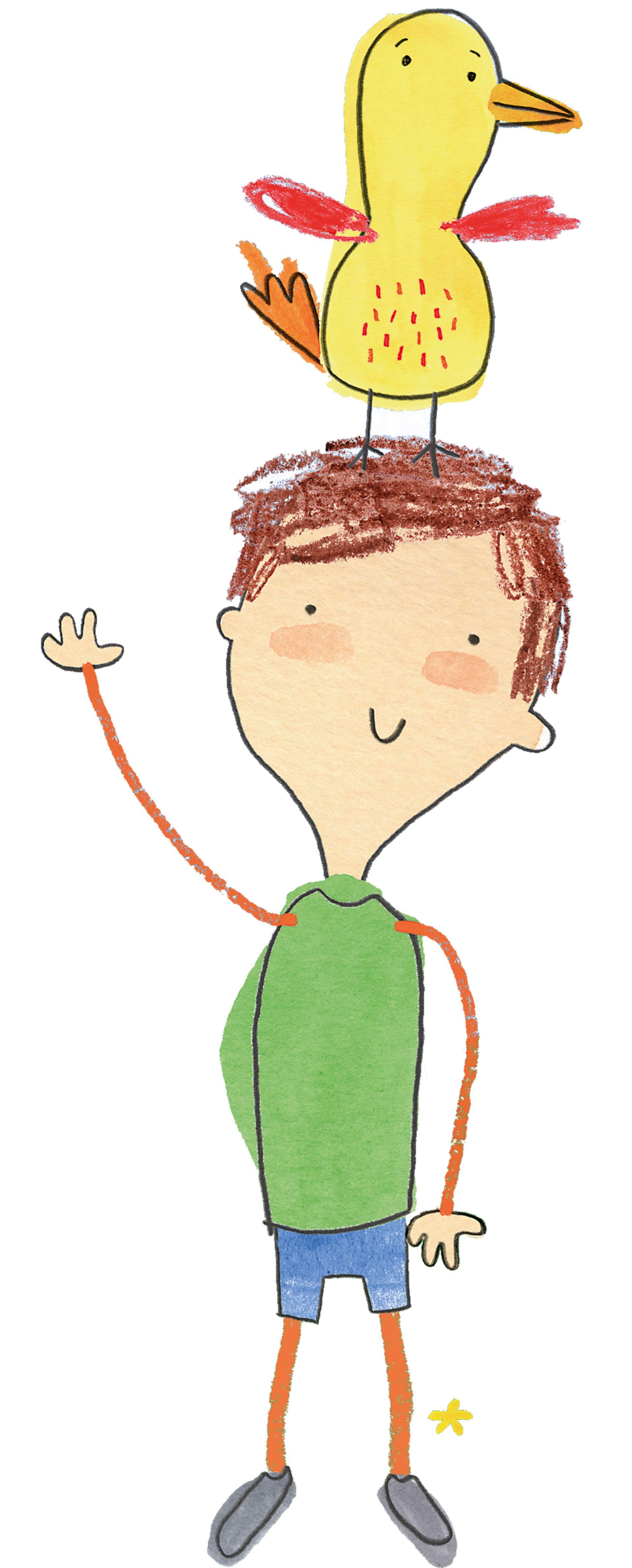 Uno de los dibujos de Pablo.