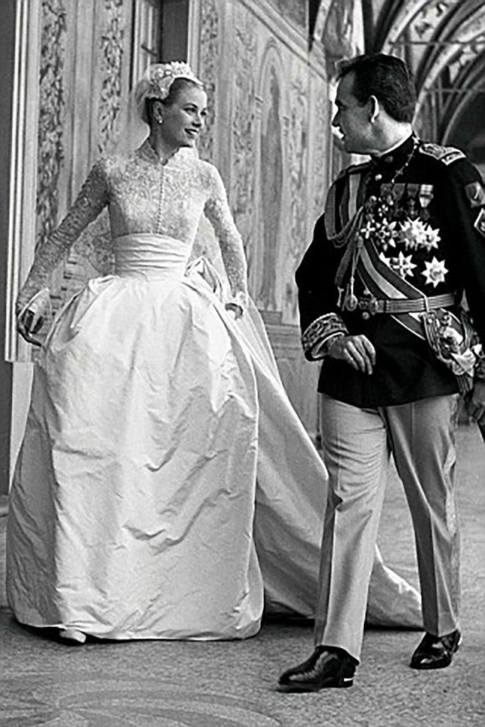 Grace Kelly se casó con el princie Rainiero a los 26 años de edad cuando estaba en la cima de su fama