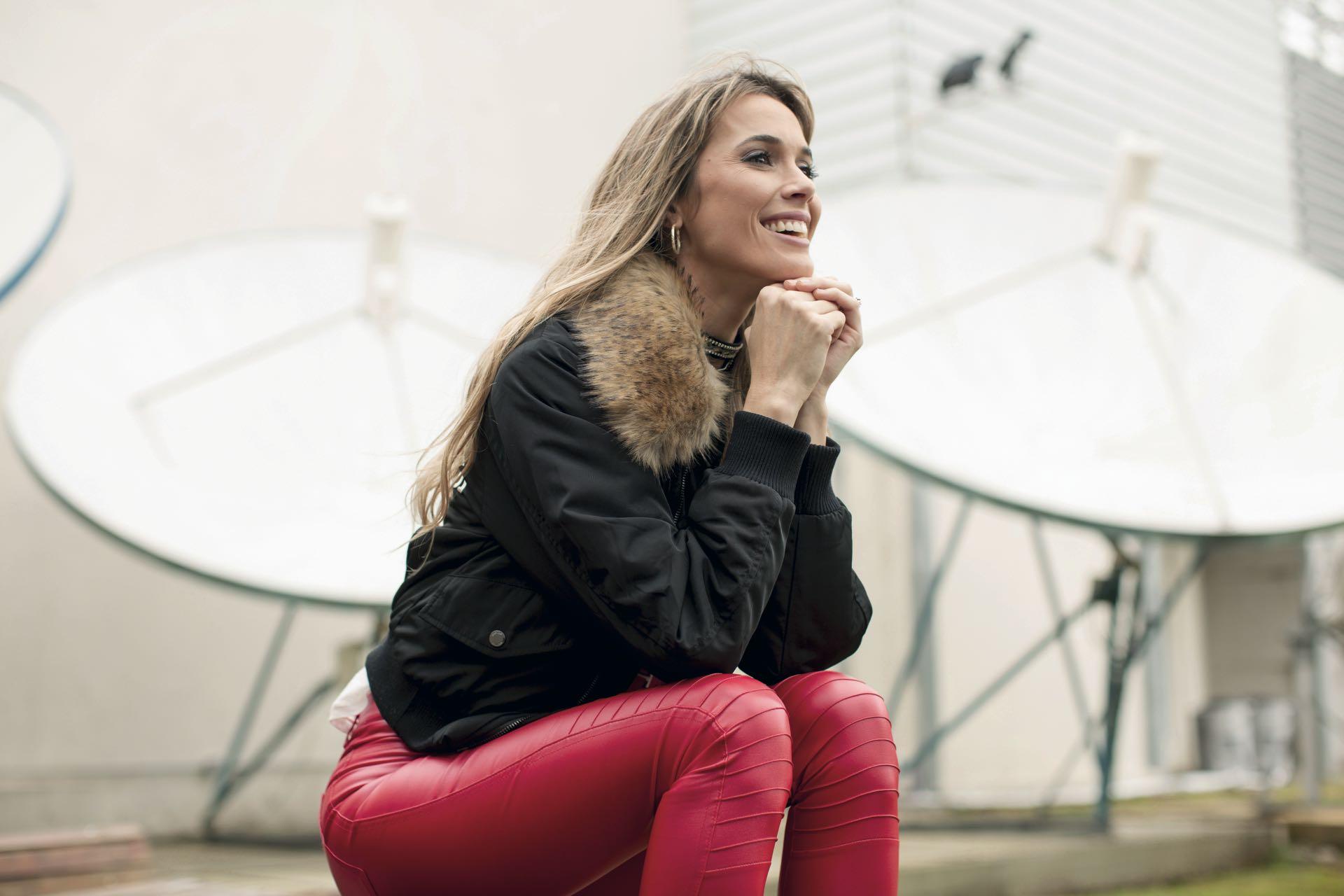 Chechu Bonelli, conductora periodística y modelo