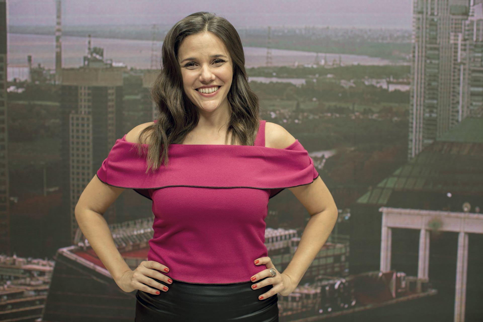Luciana Rubinska, periodista deportiva