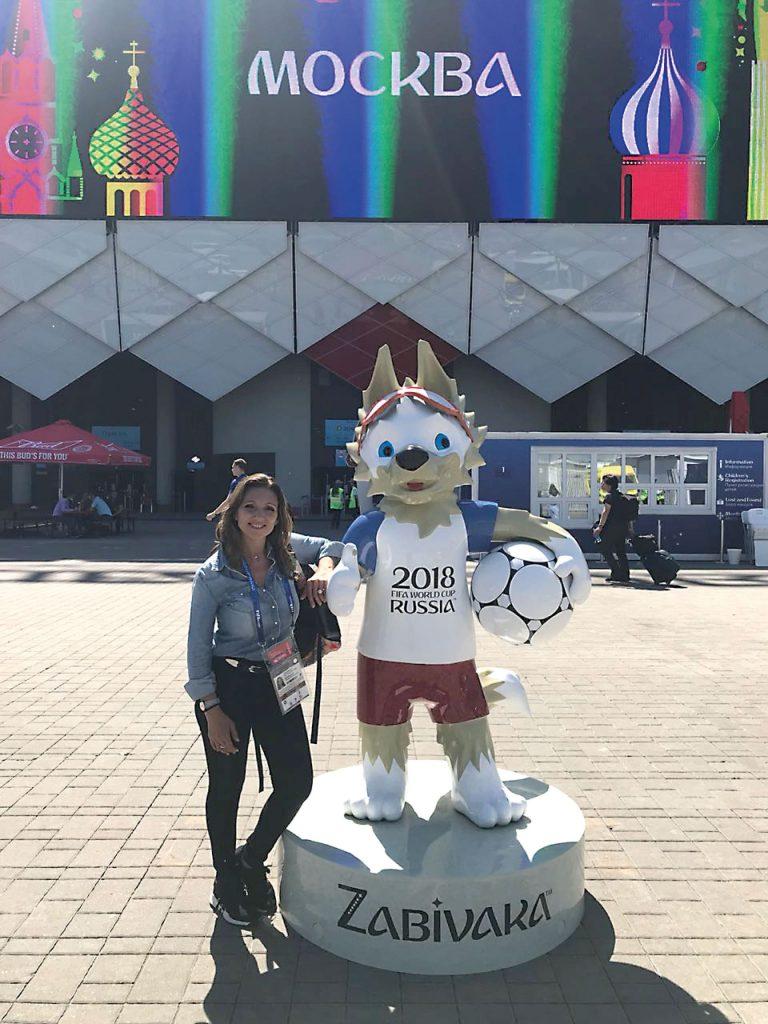 #PARA TI - VERONICA BRUNATI MUNDIAL RUSIA 2018 13 - News - GENTILEZA TNT SPORTS - 20180622