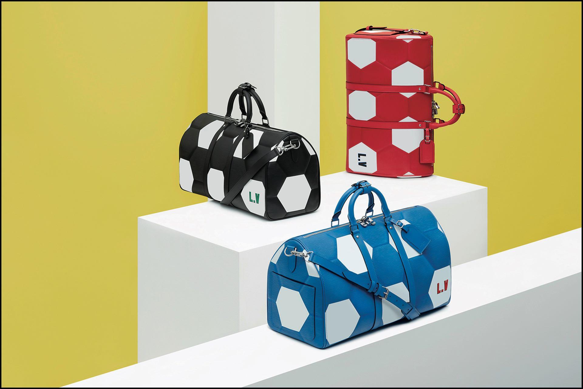Argentina, entre los grandes que juegan el mundial, representada en los diseños alegóricos Louis Vuitton.