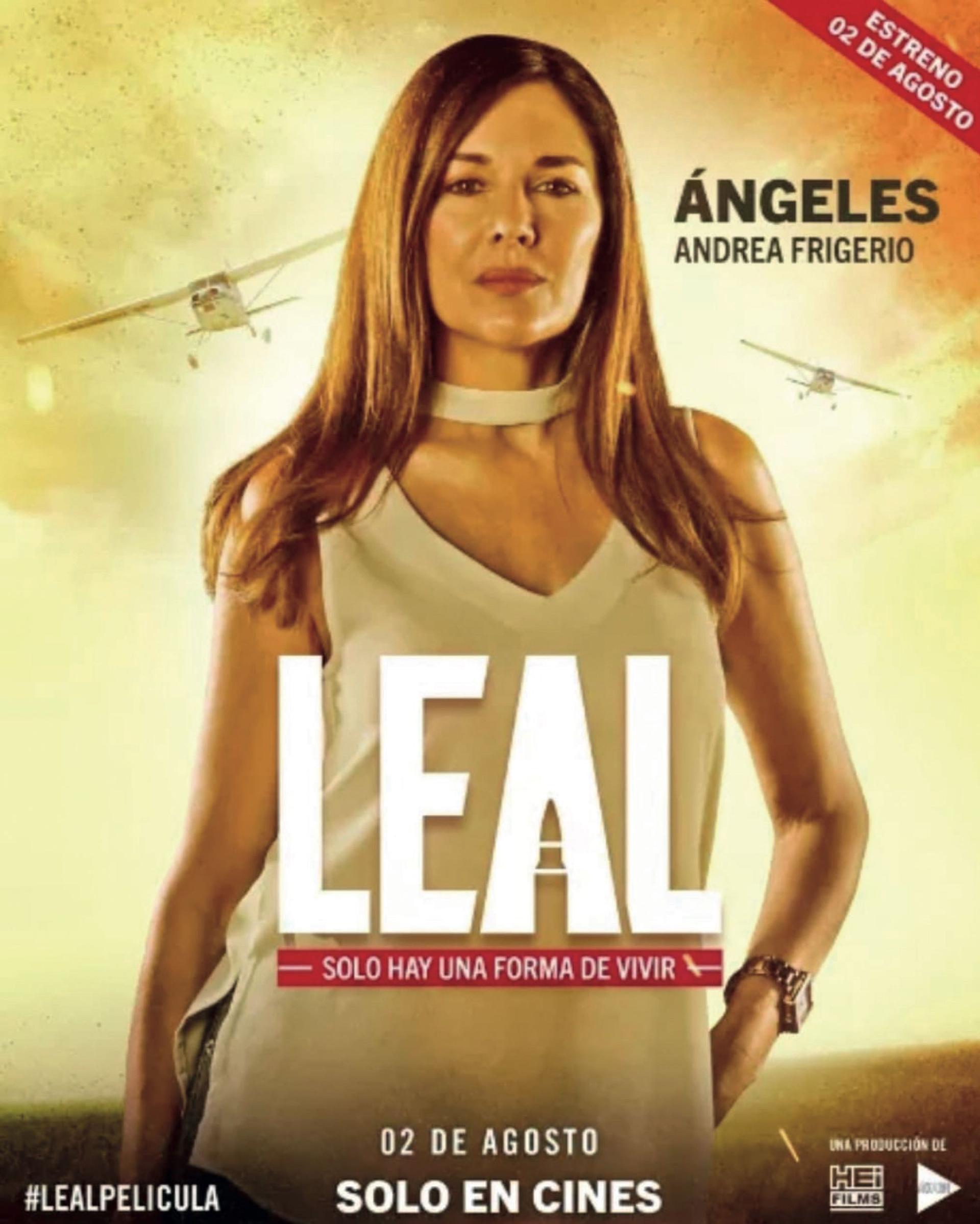 Protagonizó Leal, que se estrenó en julio en los cines de Paraguay
