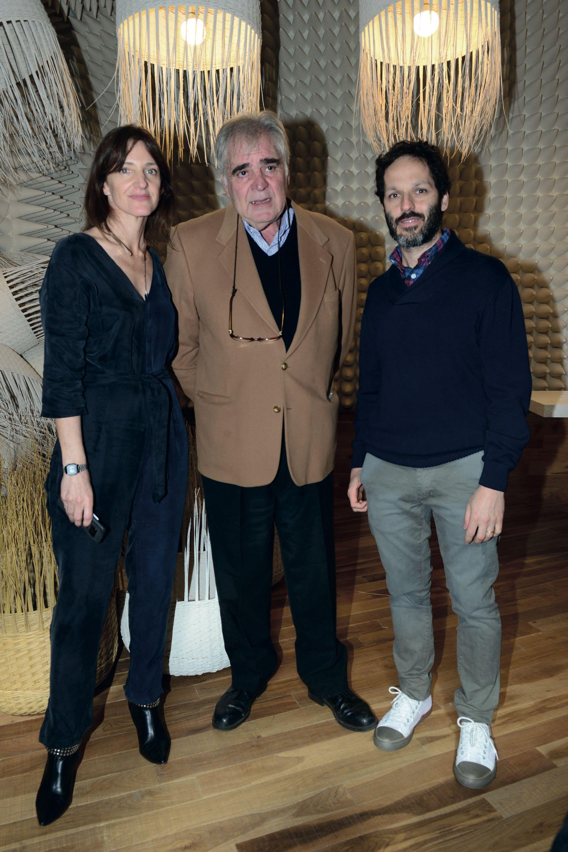 Marcela Molinari, directora de Feria PuroDiseño; Juan Garat, director ejecutivo de CAFYDMA y Federico Poletto, CEO de Editorial Atlántida.