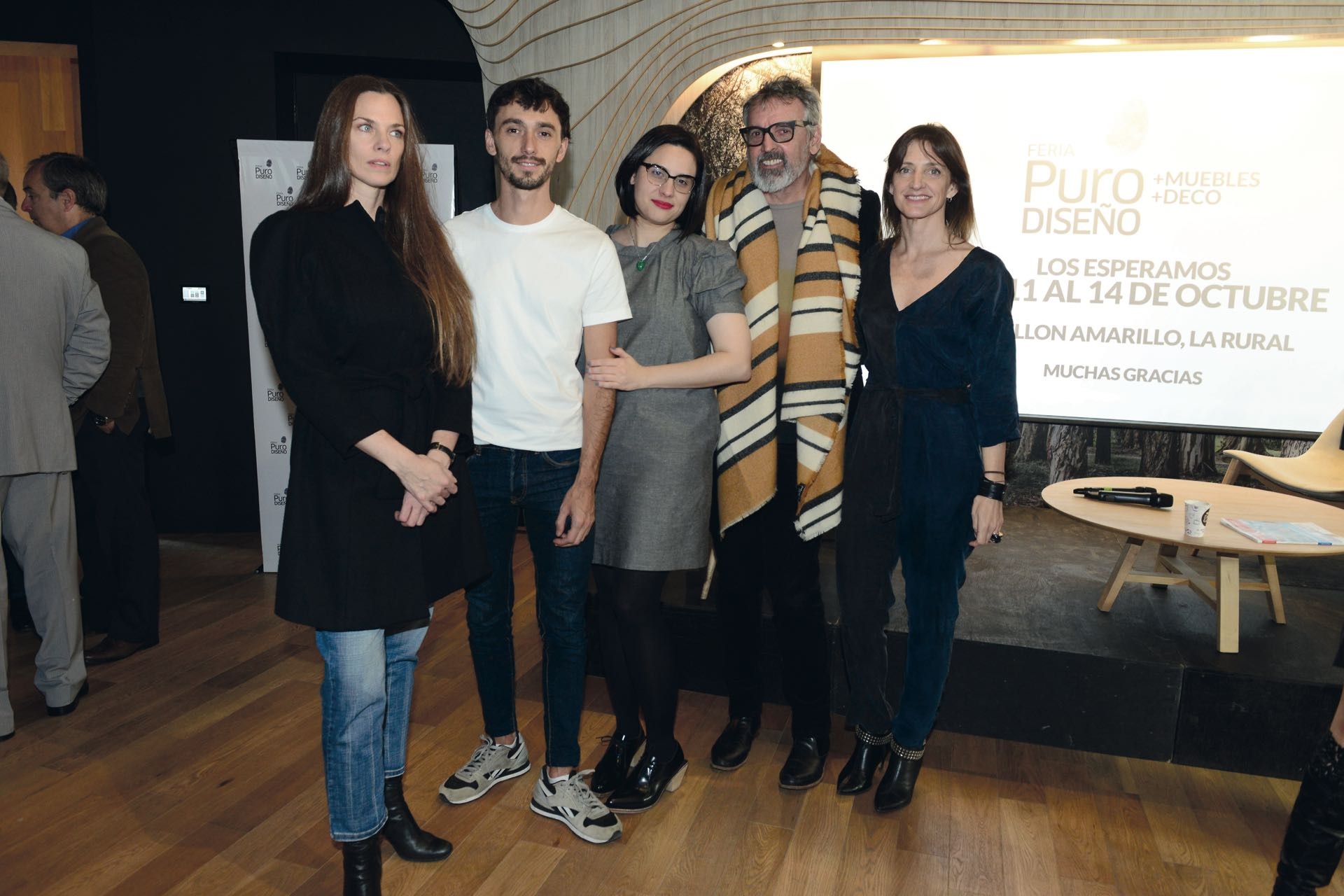 Team de curadores: Luisa Norbis, Marcelo Yarussi, Celeste Nasimbera, Benito Fernández y Marcela Molinari.