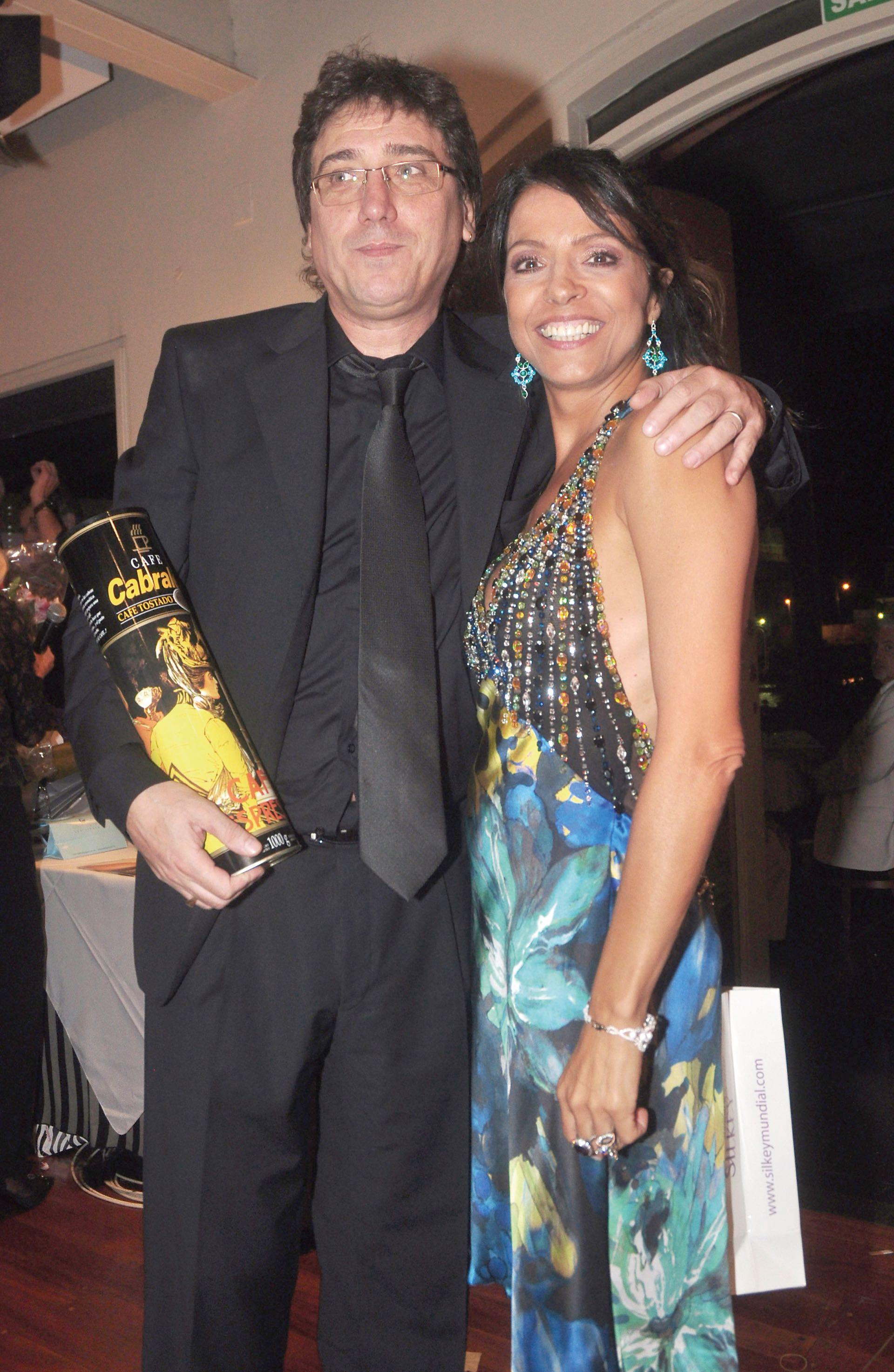 Patricia Sosa con Oscar Mediavilla