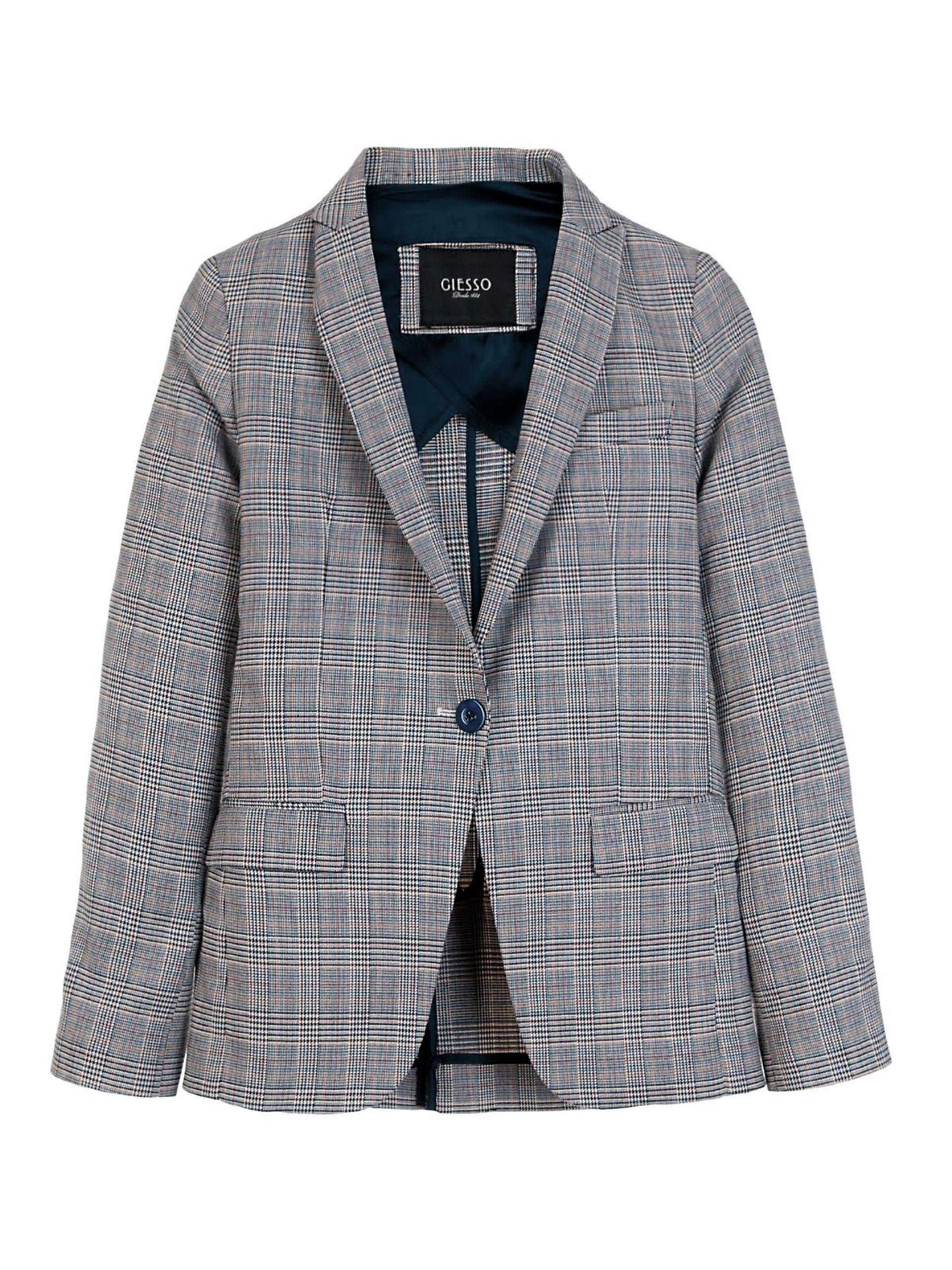 Blazer escocés ($ 5.510, Giesso).