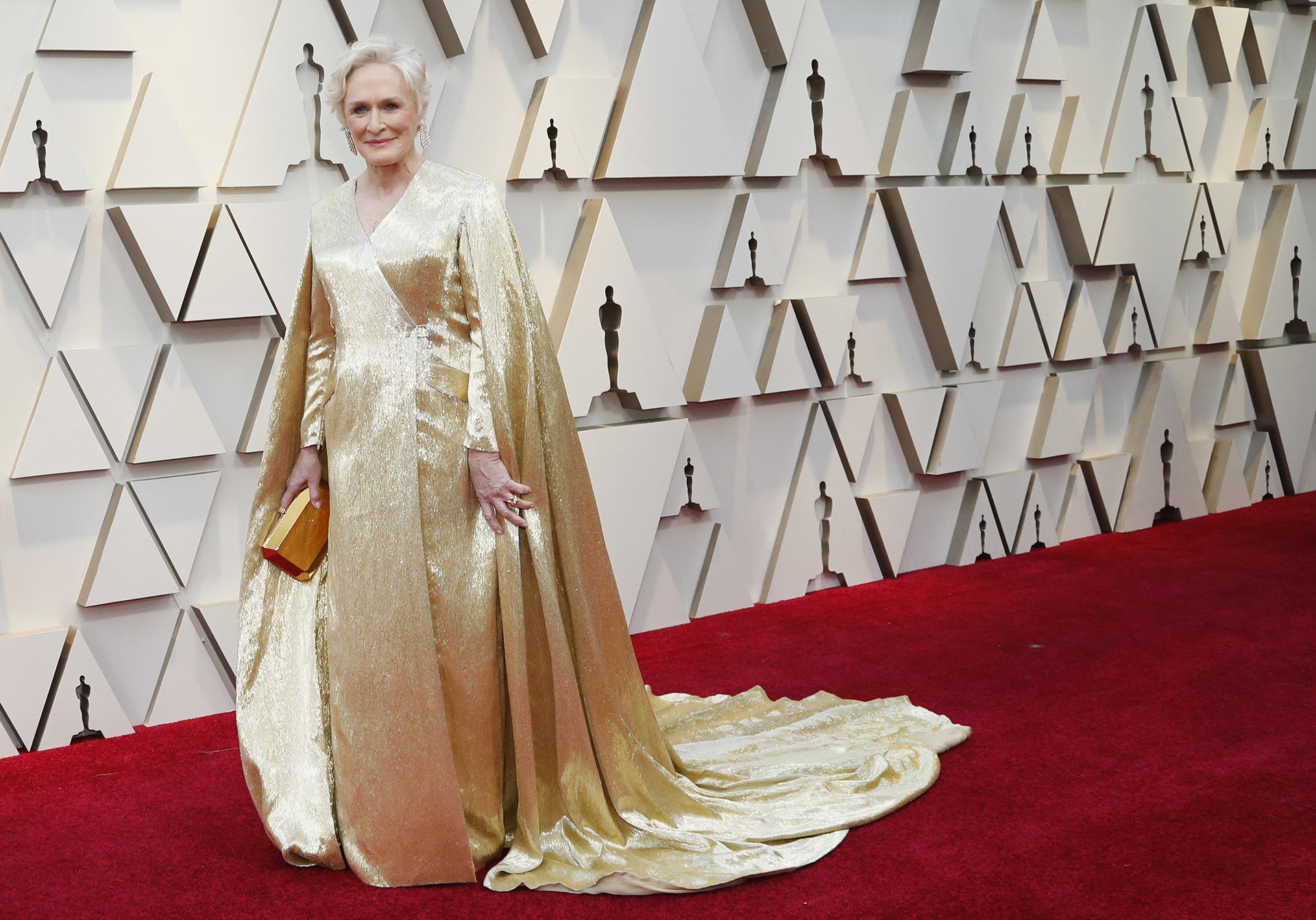 91st Academy Awards - Oscars Arrivals - Red Carpet - Hollywood, Los Angeles, California, U.S., February 24, 2019. Glenn Close poses. REUTERS/Mario Anzuoni
