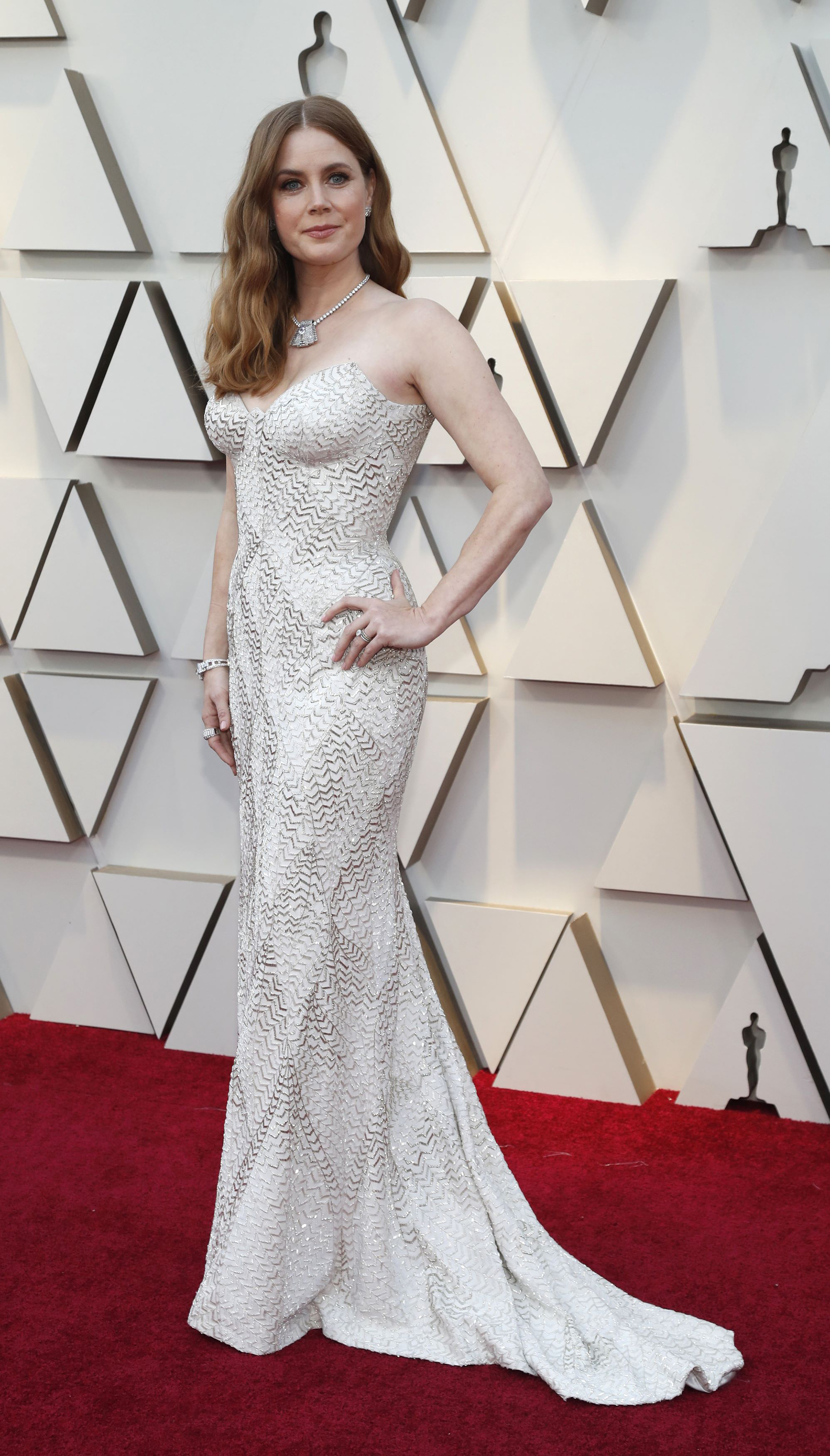 91st Academy Awards - Oscars Arrivals - Red Carpet - Hollywood, Los Angeles, California, U.S., February 24, 2019. Amy Adams. REUTERS/Mario Anzuoni