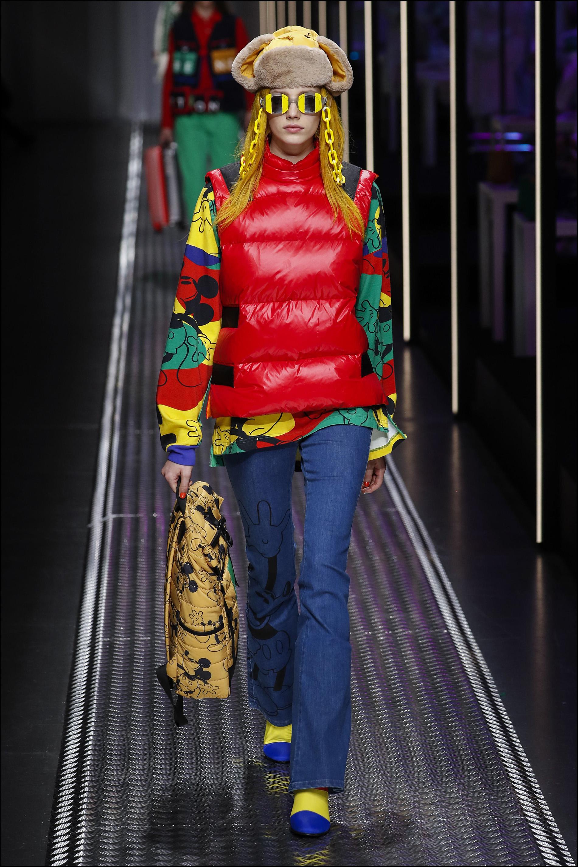 """DÈfilÈ de mode """"Benetton"""" PAP automne-hiver 2019/2020 lors de la fashion week de Milan. Le 19 fÈvrier 2019 Benetton fashion show F/W 2019/2020 in New York. On february 19th 2019"""