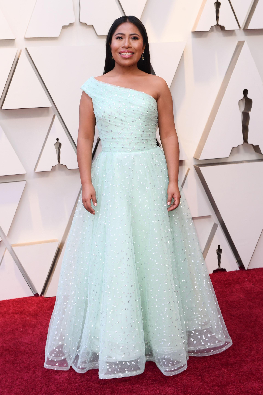 David Fisher/REX/Shutterstock (10112734cg) Yalitza Aparicio 91st Annual Academy Awards, Arrivals, Los Angeles, USA - 24 Feb 2019