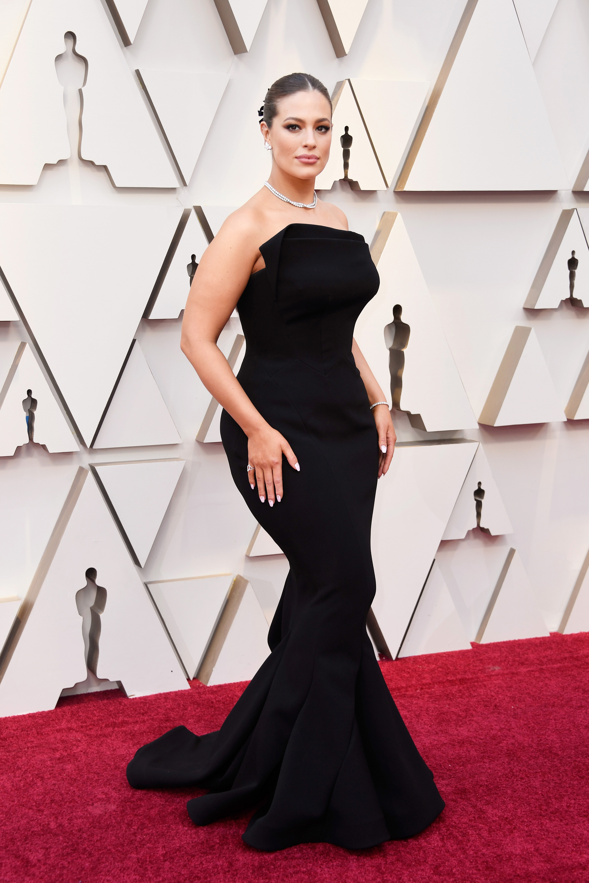 HOLLYWOOD, CALIFORNIA - FEBRUARY 24: Ashley Graham attends the 91st Annual Academy Awards at Hollywood and Highland on February 24, 2019 in Hollywood, California. Frazer Harrison/Getty Images/AFP