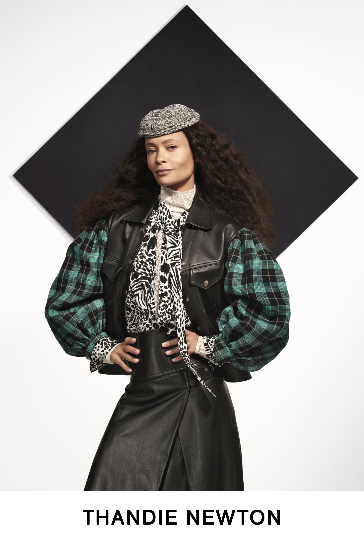#PARA TI - LOOK BOOK VUITTON - Moda - THANDIE NEWTON - GENTILEZA MARCA