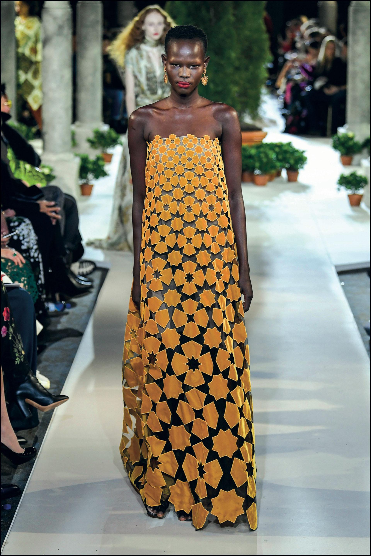 Mannequin - DÈfilÈ Oscar de la Renta lors de la Fashion Week automne-hiver 2019/2020 ‡ New York, le 12 fÈvrier 2019. Models walk the runway at Oscar De La Renta during New York Fashion Week on February 12, 2019 in New York City.