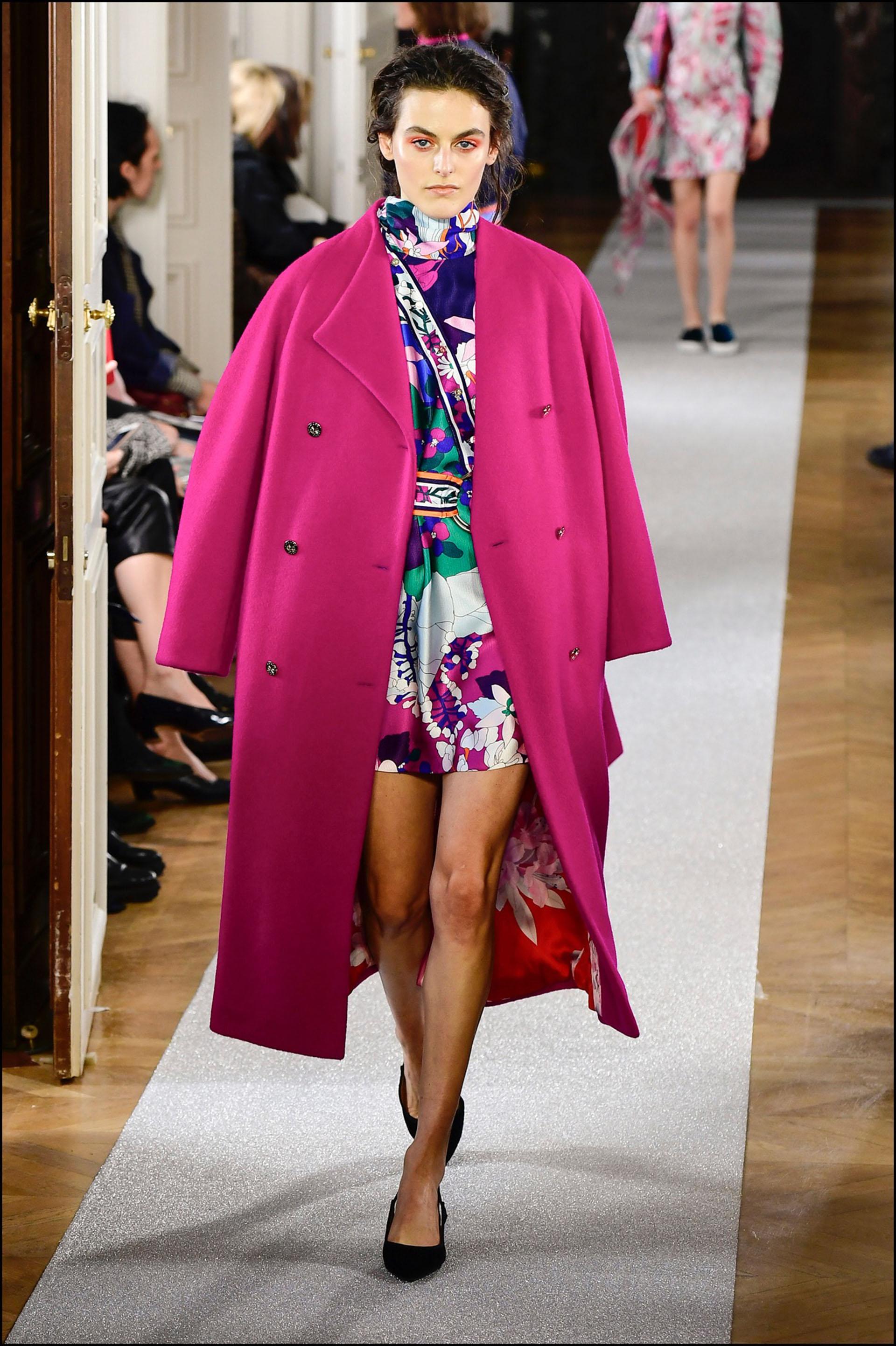 Mannequin - DÈfilÈ de mode Leonard collection prÍt-‡-porter Automne-Hiver 2019/2020 lors de la fashion week ‡ Paris, le 1er mars 2019. Leonard fashion show ready-to-wear Fall-Winter 2019/2020 during the fashion week in Paris, France, on March 1st 2019.