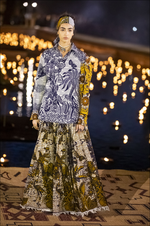 Nora Attal - DÈfilÈ CroisiËre Dior au Palais El Badi ‡ Marrakech, le 29 avril 2019. ---- Catwalk - The Christian Dior Couture Cruise Collection in Marrakech, Morocco, on April 29th, 2019.