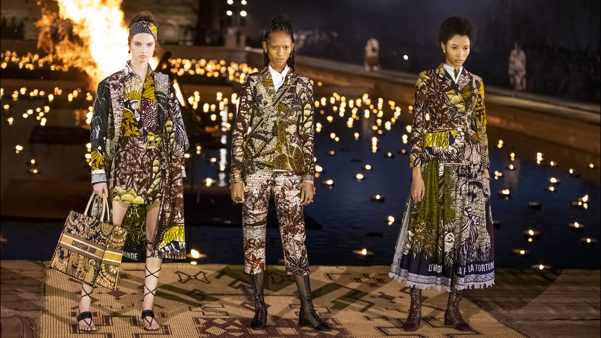 - DÈfilÈ CroisiËre Dior au Palais El Badi ‡ Marrakech, le 29 avril 2019. ---- Catwalk - The Christian Dior Couture Cruise Collection in Marrakech, Morocco, on April 29th, 2019.