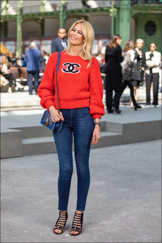Claudia Schiffer es fan de Chanel.