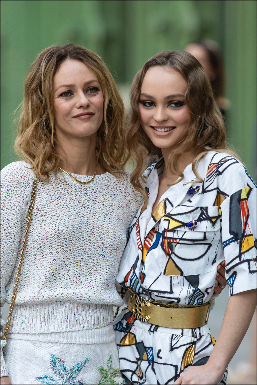 Vanessa Paradis y Lily Rose Depp. Madre e hija con estilo.