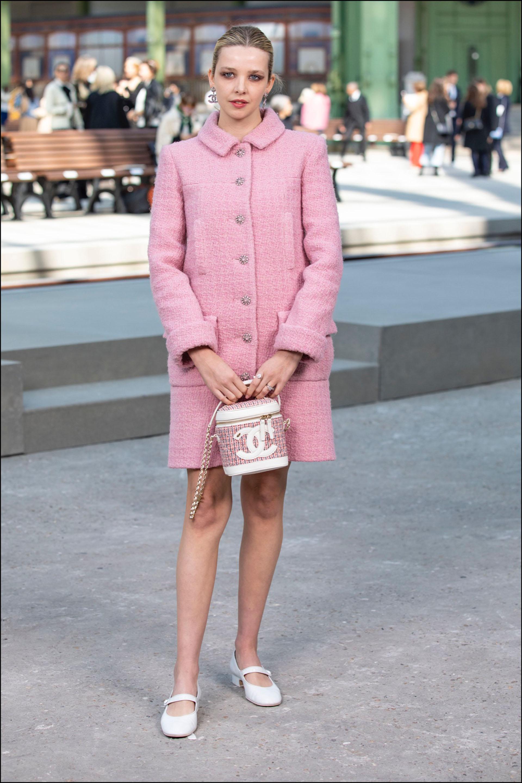 Greta Bellamacina, chica Chanel.