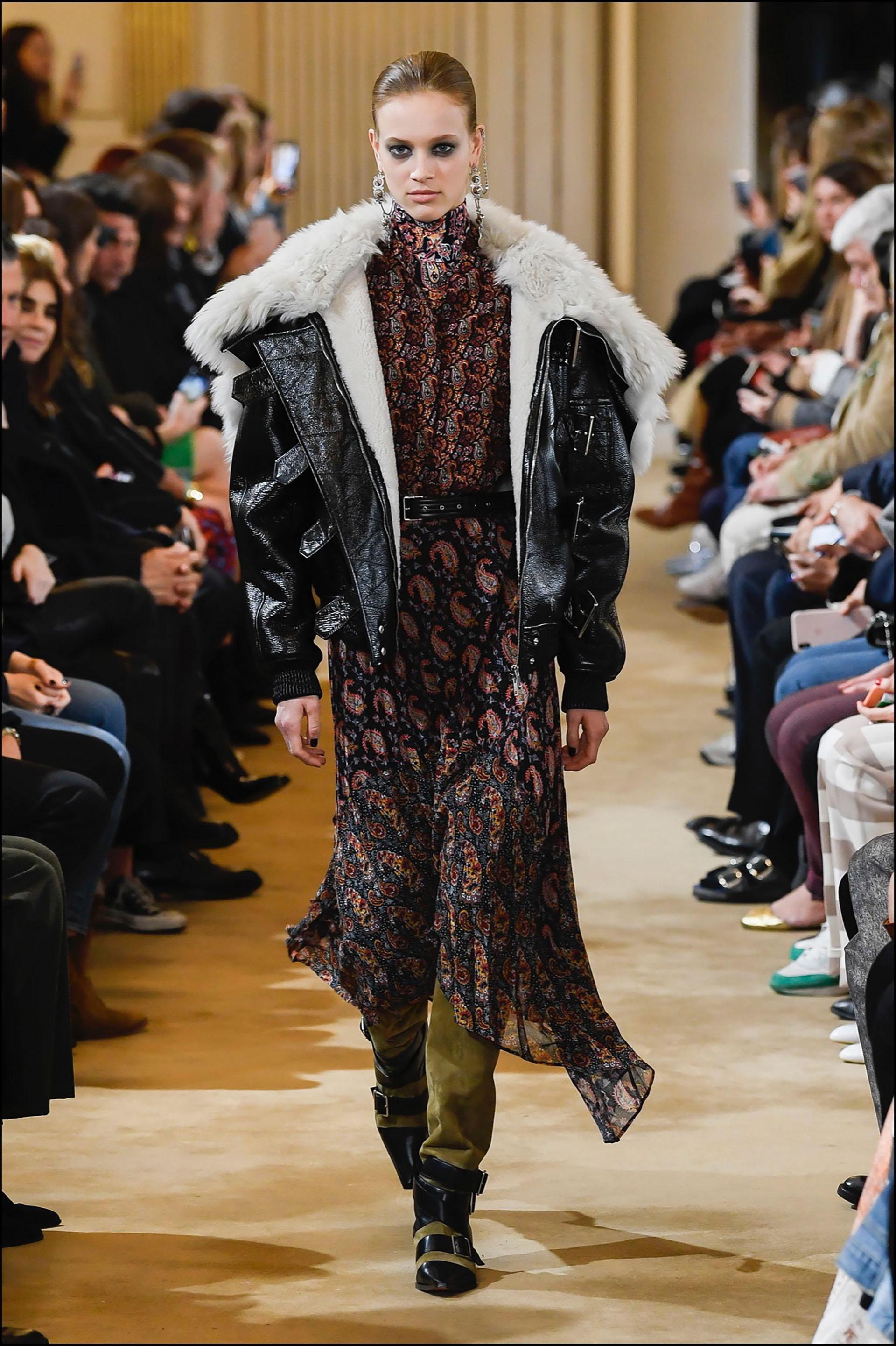 Mannequin - DÈfilÈ de mode Altuzarra collection prÍt-‡-porter Automne-Hiver 2019/2020 lors de la fashion week ‡ Paris, le 2 mars 2019. Altuzarra fashion show ready-to-wear Fall-Winter 2019/2020 during the fashion week in Paris, France, on March 2nd 2019.