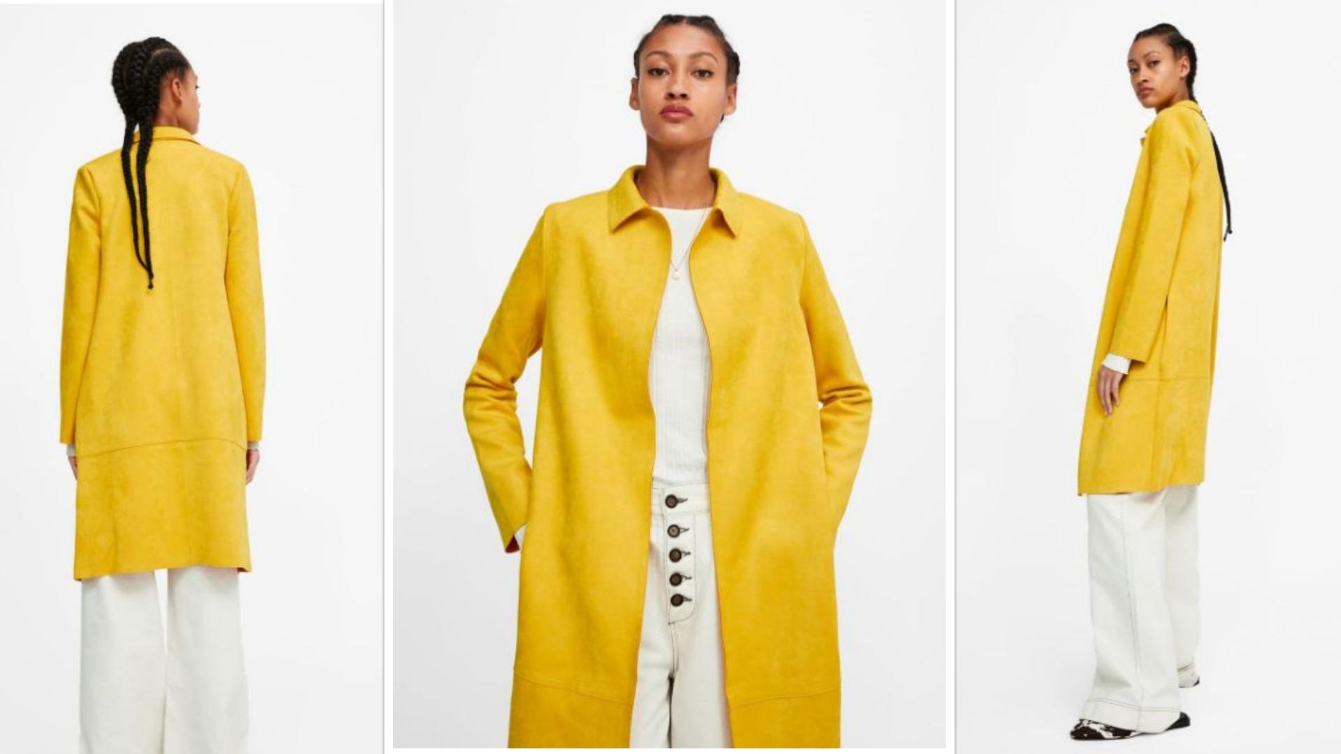 e8dfb699c Cómo reinventar tu look con un abrigo oversize amarillo | Para Ti