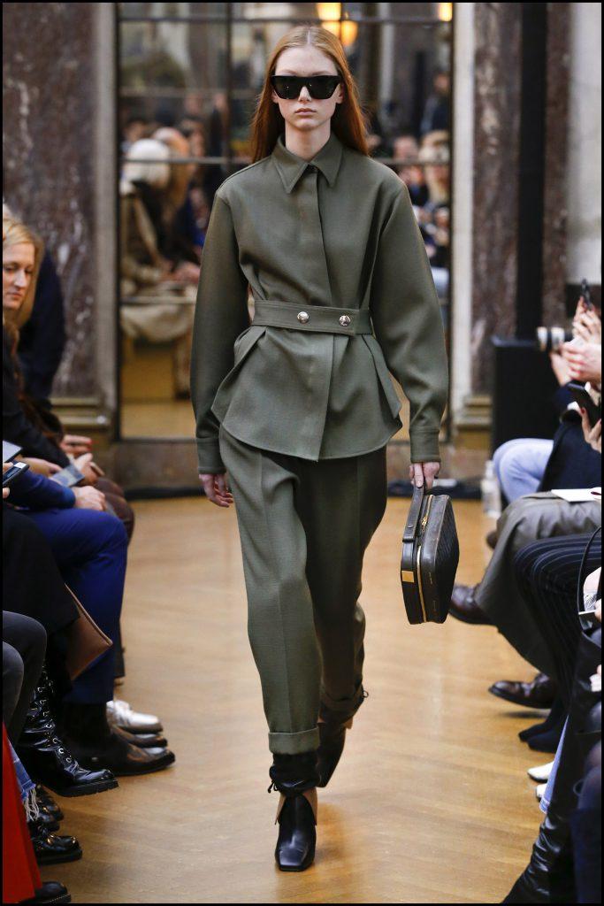 DÈfilÈ de mode Victoria Beckham collection prÍt-‡-porter Automne-Hiver 2018 lors de la fashion week ‡ New York, le 11 fÈvrier 2018 Victoria Beckham fashion show ready-to-wear A/W 2018 in New York. On February 11st 2018