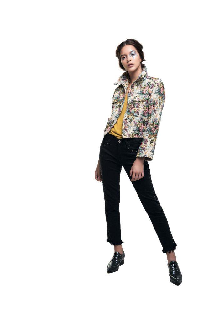 #PARA TI - ANTICIPO COLECCIONES ESTUDIO- moda - campera de brocato india style - FV - 20180316