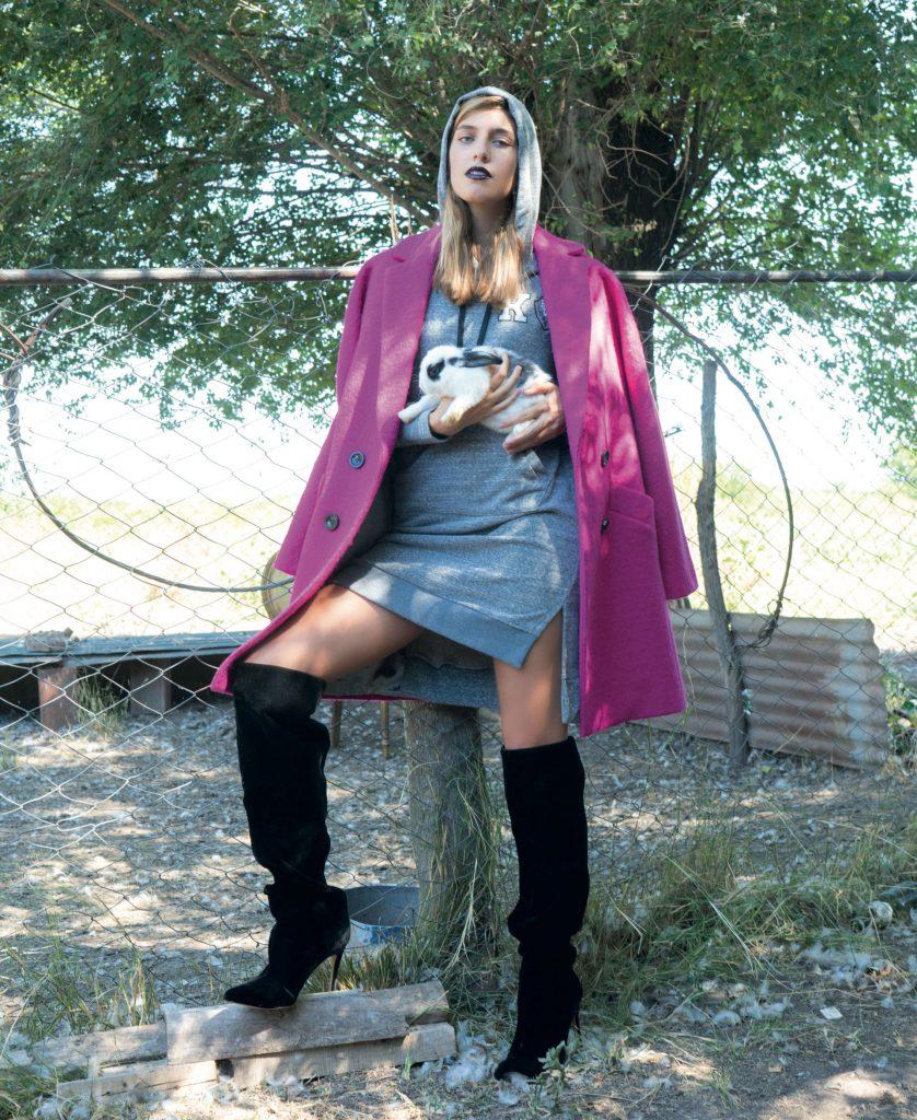#PARA TI - ANTICIPO COLECCIONES EXTERIORES- moda - tapado over size Carmela Achaval- JJ - 20180316