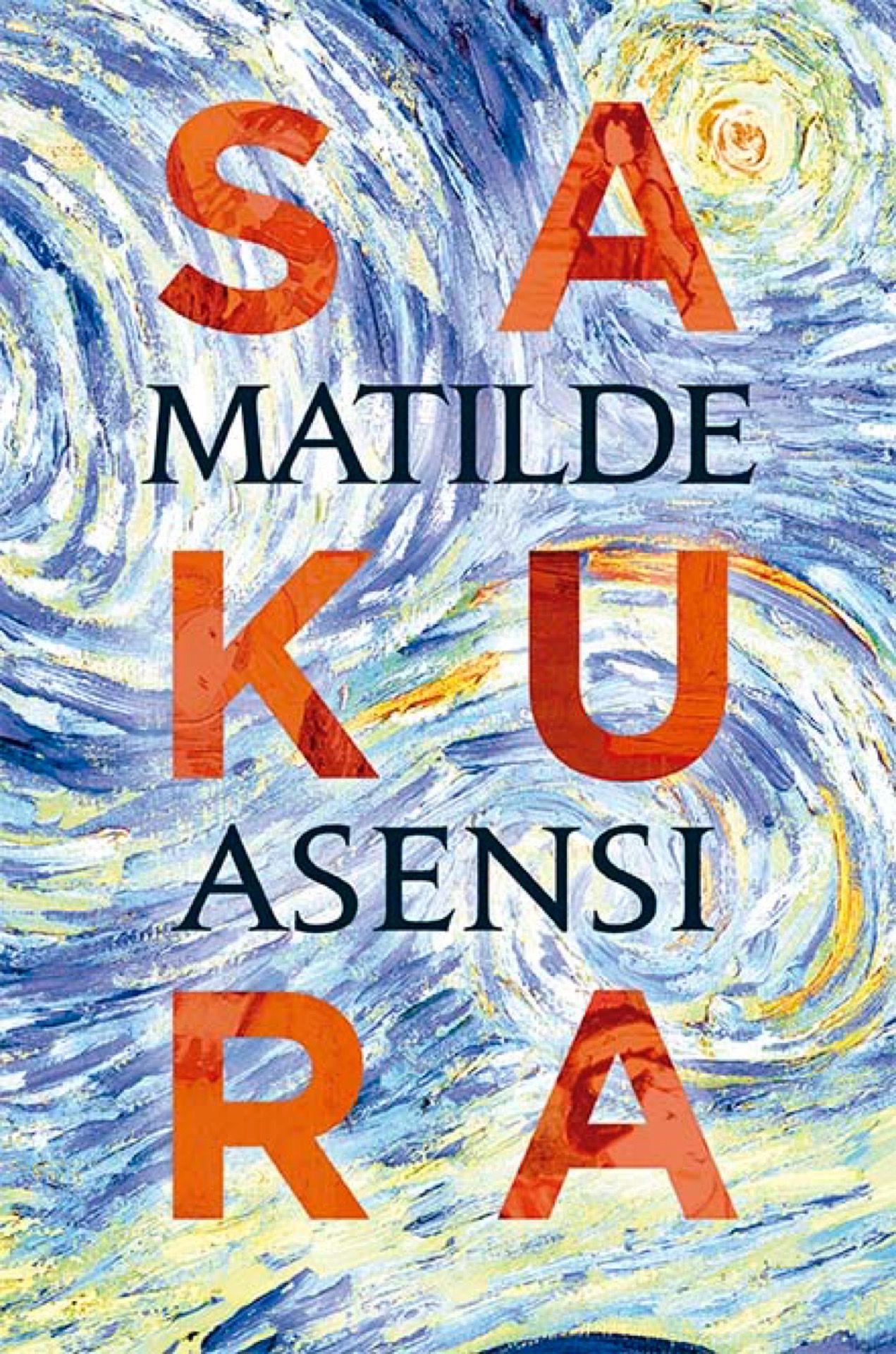 La tapa de Sakura de Matilde Asensi, una escritora española best-seller.