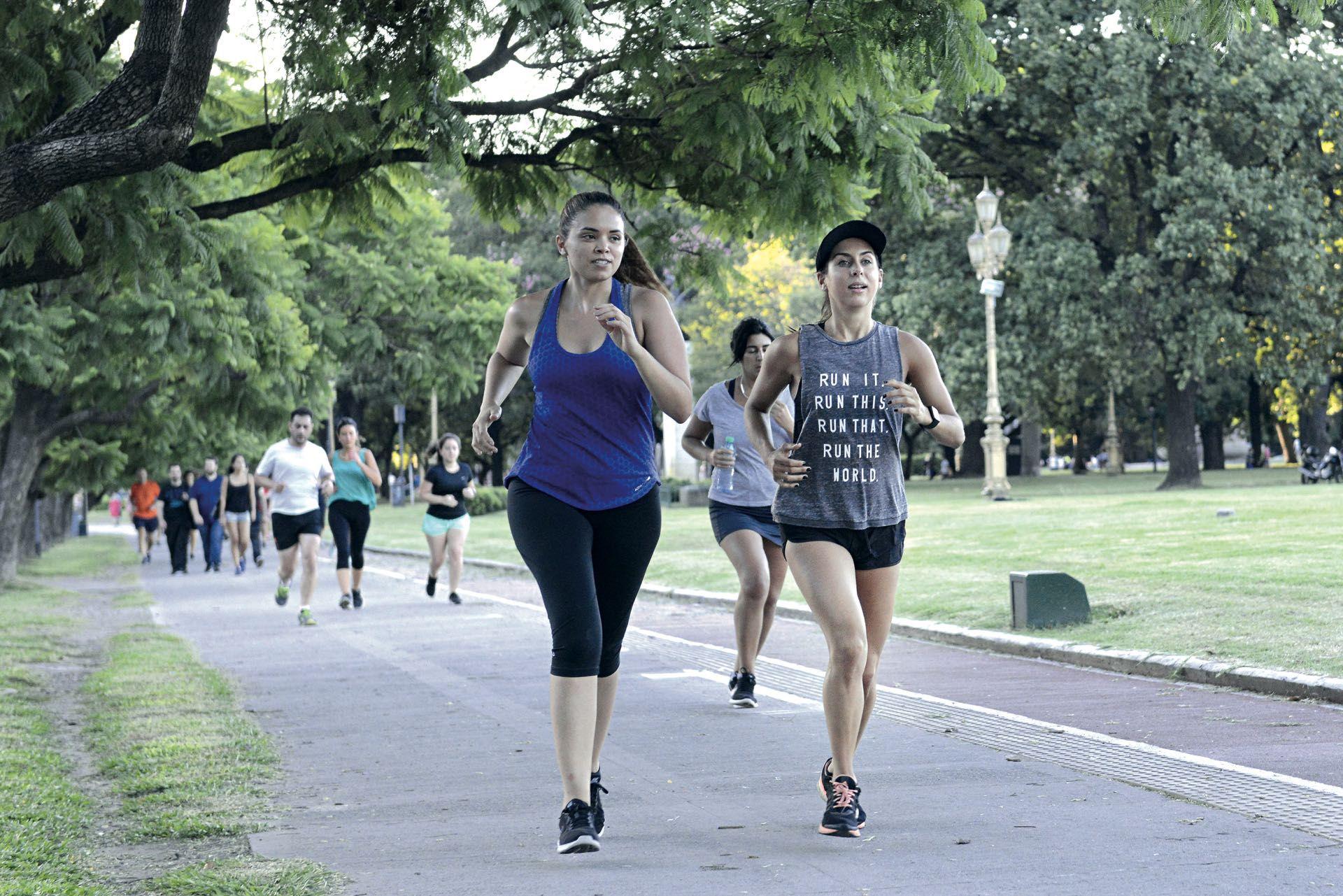 Correr y perseguir los propios objetivos y sueños. De eso se trata.