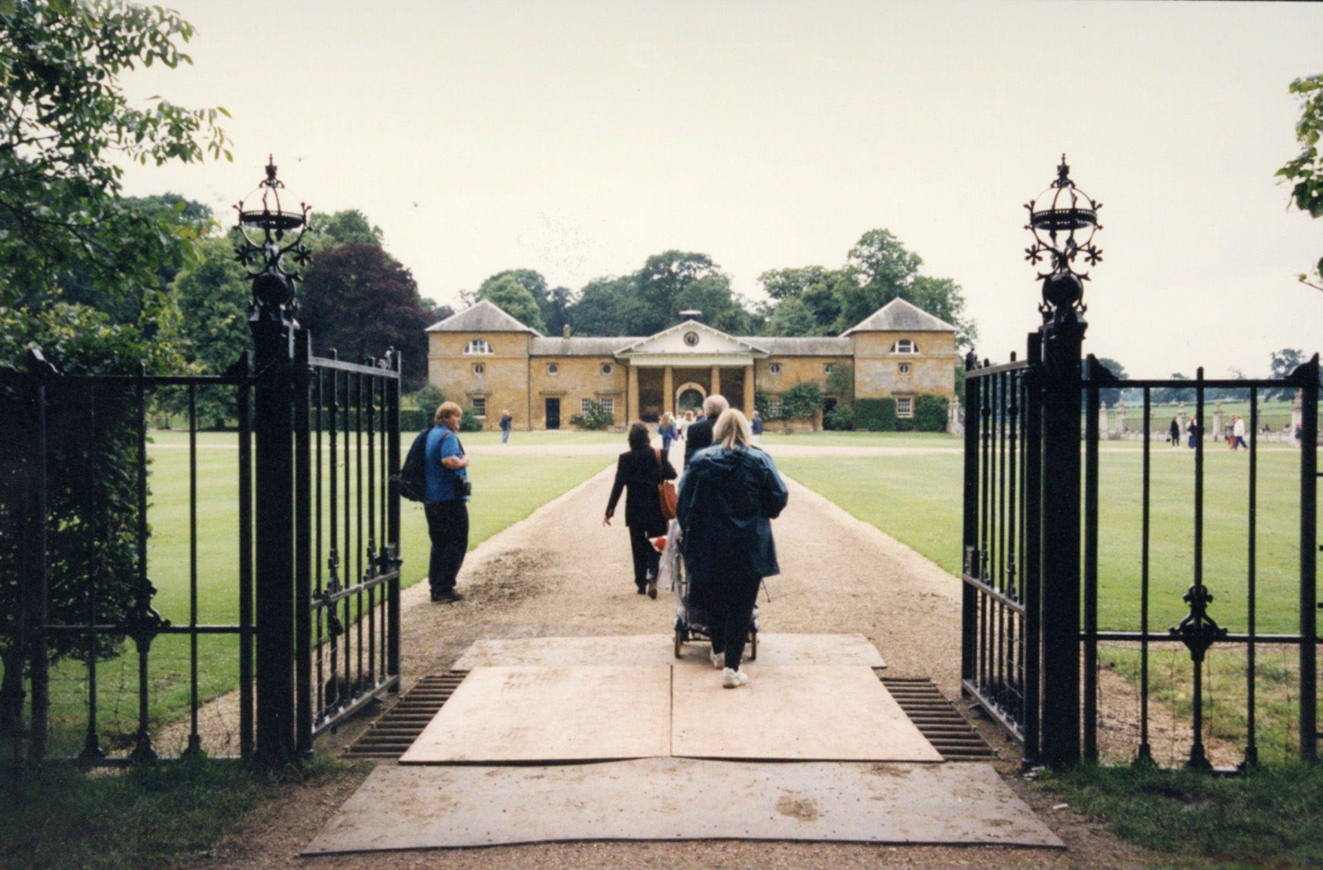 La entrada a la casa. Permanecerá abierta al público desde el 1 de julio al 31 de agosto.