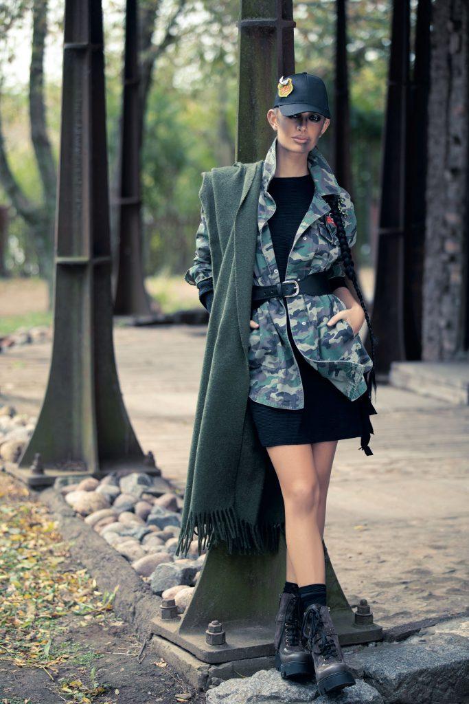 moda tendencia militar