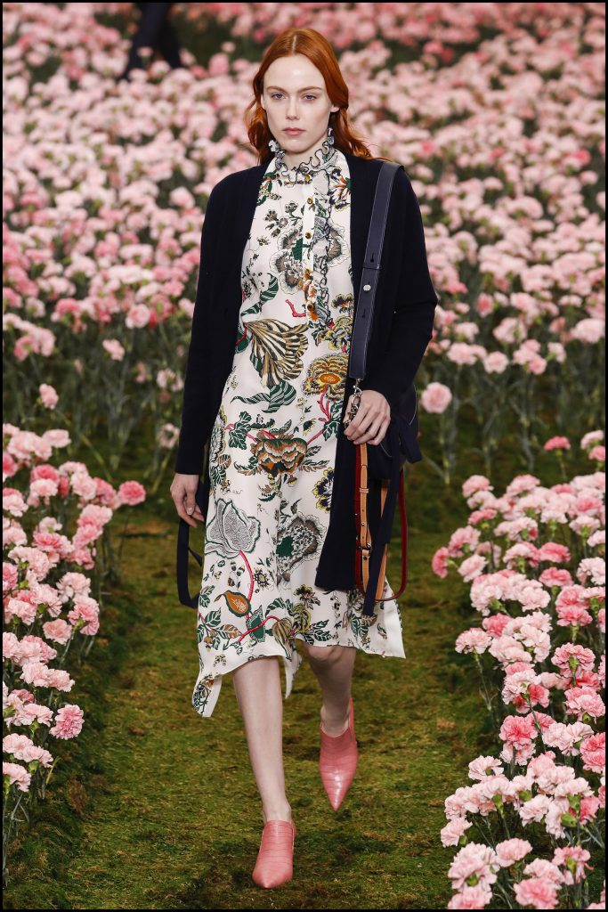 Kiki Willems - DÈfilÈ de mode Tory Burch lors de la Fashion Week de New York City, New York, Etats-Unis, le 9 fÈvrier 2018. Tory Burch Fall Winter 2018 Fashion Show during New York Fashion Week at Bridge Market in New York, NY, USA on February 9, 2018.