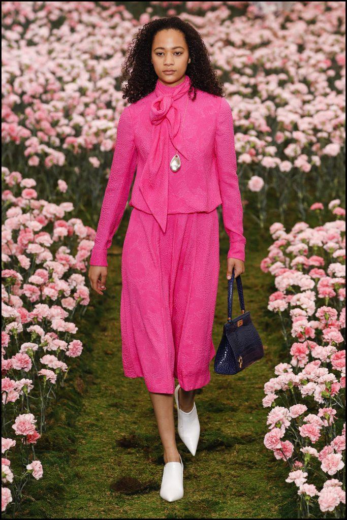 Selena Forrest - DÈfilÈ de mode Tory Burch lors de la Fashion Week de New York City, New York, Etats-Unis, le 9 fÈvrier 2018. Tory Burch Fall Winter 2018 Fashion Show during New York Fashion Week at Bridge Market in New York, NY, USA on February 9, 2018.