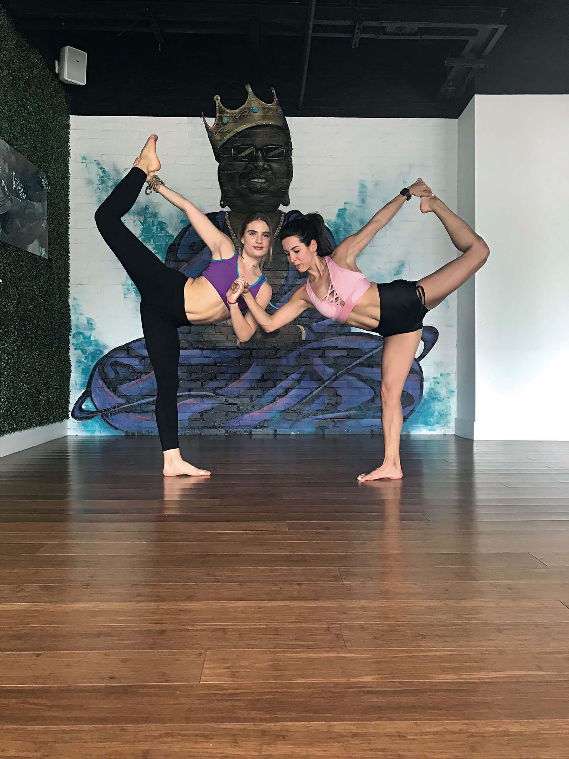 Maham, hot yoga. Miami ofrece las mil y unas opciones fitness.