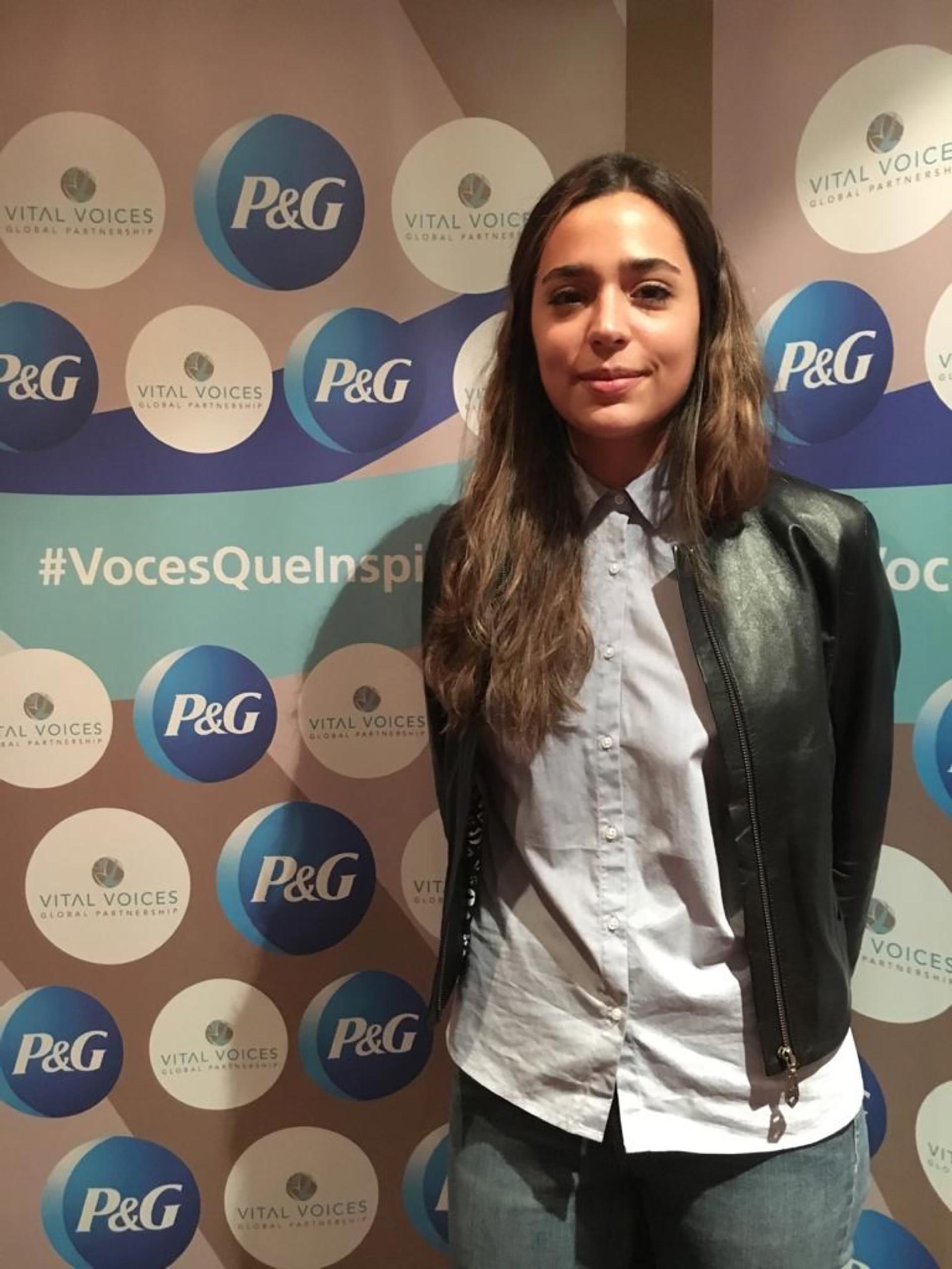 Eliana Vidal (22) presentó un proyecto para mejorar la participación cívica y política en la juventud en Argentina.