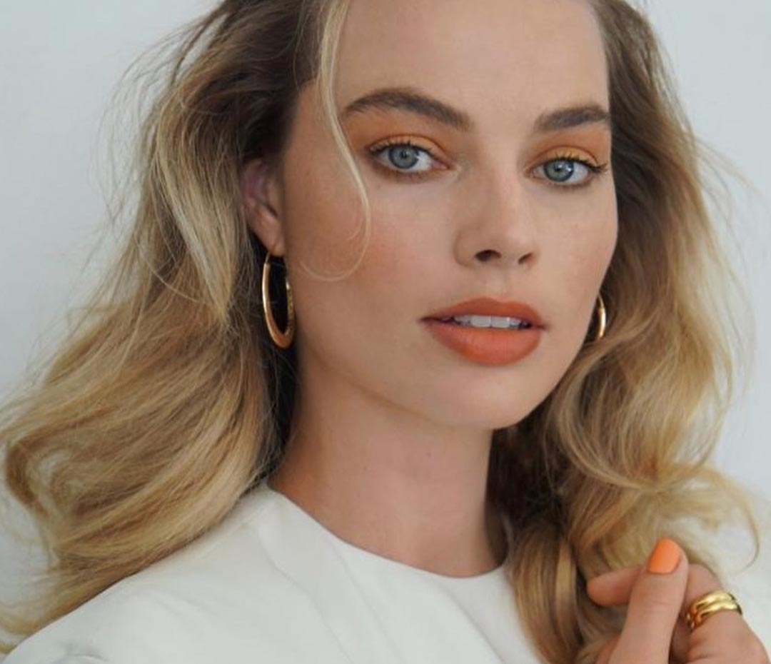Margot Robbie llevó la última tendencia beauty