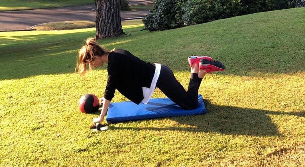 Todo sobre la rutina de ejercicios de Juliana Awada