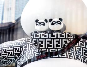 PANDA FENDI COLABORACION