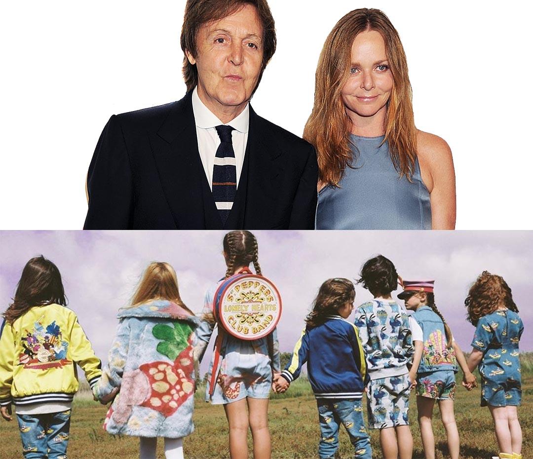 Stella McCartney lanzó una colección inspirada en Los Beatles
