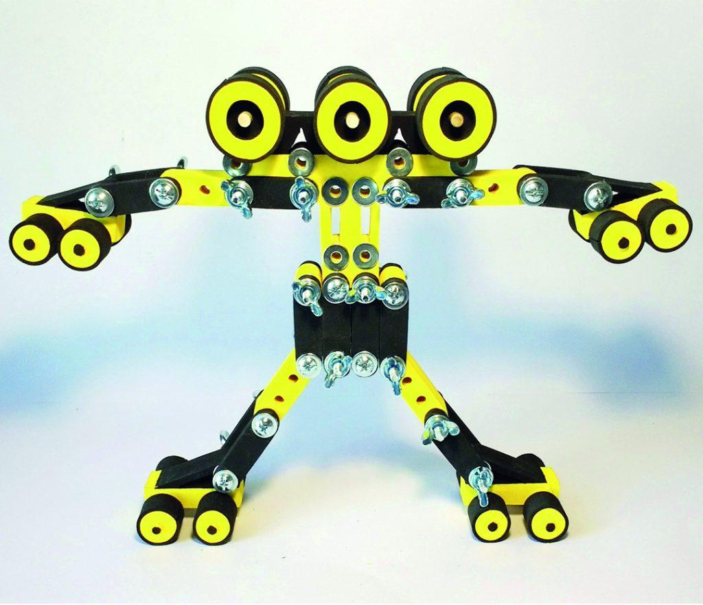 Cada muñeco de INF Toys tiene su personalidad
