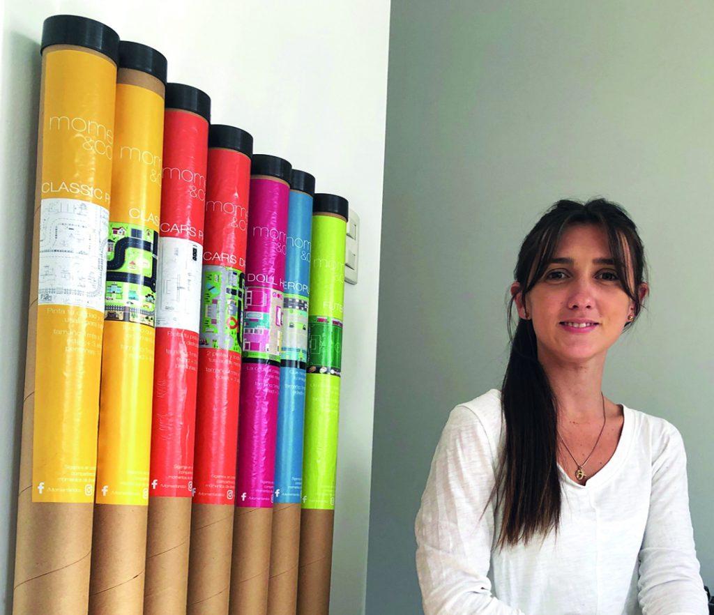 La diseñadora Macarena Chane imagina escenarios para que los chicos jueguen