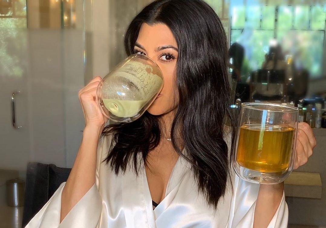 Los secretos de la receta del matcha latte de Kourtney Kardashian
