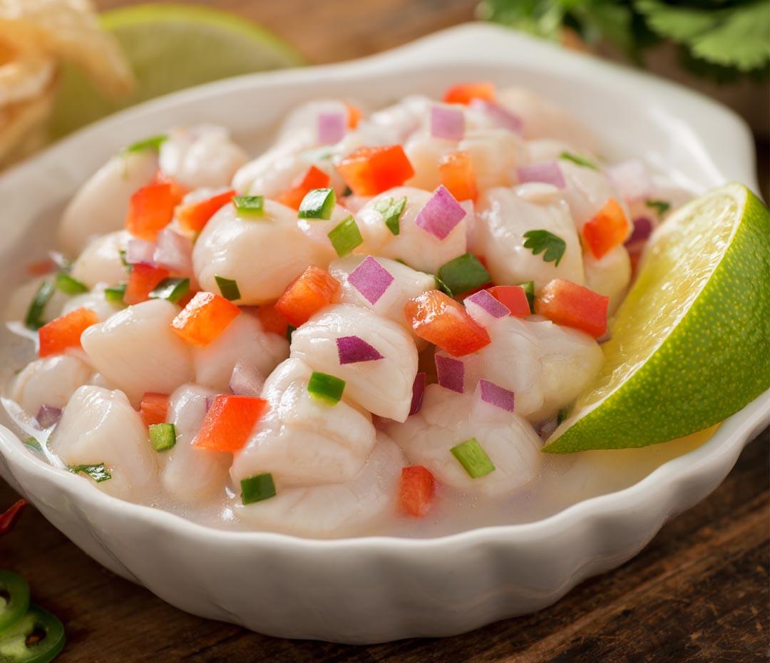 Los platos que tenés que probar en Perú Week, ¡ceviche y más!